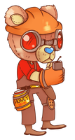 FANART: TF2 engineer by JackASmile