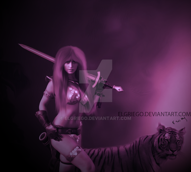 red sonja by elgriego