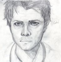 Cas Sketch by EmD-Neko-Chan