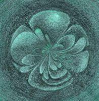 Green flower for didi1959 by sweetmarly