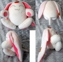 White Mokona by Rens-twin