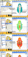 MMD PMDE-How to make a model taller? by brsa
