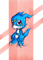 Veemon by Evinawer