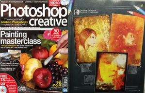 Photoshop Creative Mag issue 6 by BloodAppleKiss