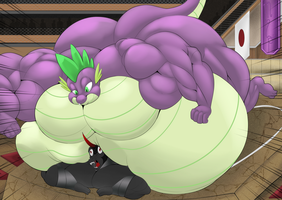 Sumo Spike vs sumo Sombra by RickyDemont