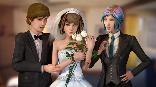 Life is Strange - Wedding by Mary-O-o