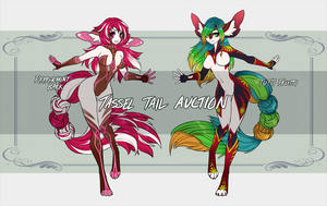 Adoptables: Tassel Tails 01 by IllusionsParadise