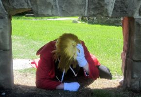 Facepalm [Edward Elric] by BlueWingXIII