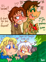 APH SS- First Date by DarkChocolateCandy