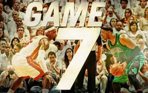 Heat vs. Celtics GAME 7 Wallpaper by rhurst