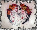 Virgin Suicide - tattoo by mojotatboy