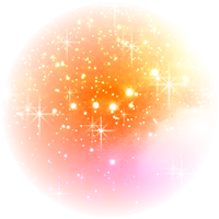 Glitter Orange Shadow PNG by SugarPaula