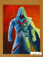Ezio Painting by DoomCMYK