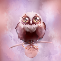 'owl' the gift by Kristallin-F
