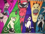 The deadly six (request) by SabrinaTheHedgeFox