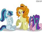Commission: The little dazzlings by Carranzis
