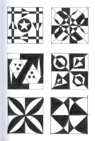 Tile Designs Page Two by EmmaL27