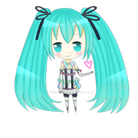 Happy Birthday Hatsune Miku by miki8263