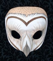 Barn Owl Mask 2010 by merimask