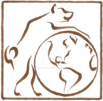 Earth Dog Imagery - logo 2 by sidneyeileen