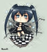 +Black Rock Shooter+ by viliann
