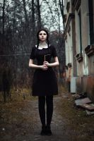 Wednesday Addams II by lightlanaskywalker