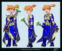 Misty Ref Sheet Commish by The-Bluetip