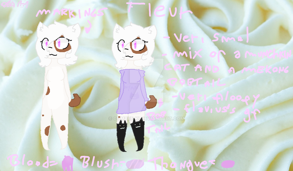 Fleur ref by Bea-the-pancake-cat