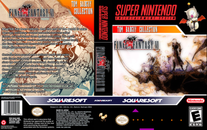 Final Fantasy VI SNES Custom Box Art by TomBadguy