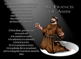 St. Francis by ssejllenrad