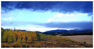 Fall in the Bighorns by wyorev