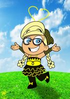 Halloween '13: Brianna As Bee Girl by TheEdMinistrator765