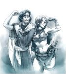 Commission: Marthin and Tyra by shideh