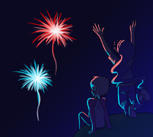 happy 4th everyone! by queenofdavekat