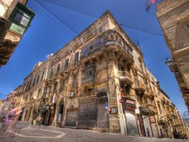 Valletta streets 1 by Dogbytes