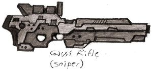 Gauss rifle by Great-5