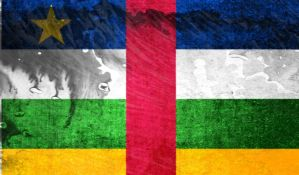 flag of Central African Republic (grunge) by flagArtist