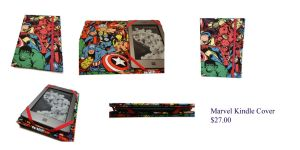 Marvel Kindle Cover 1 by The2SistersShoppe
