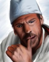 House MD - House in scrubs by Hockypocky