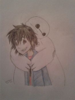 Like a Big Marshmallow - BH6 by Cakethecat2