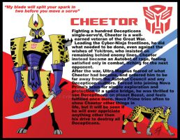 TFA print: Cheetor by Cyber-Kun