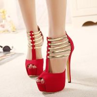 Red High Heels by ShoespieReviews