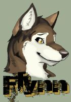 Official Flynn badge by WildTheory