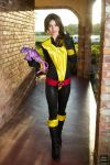 Kitty Pryde and Lockheed by MeganCoffey