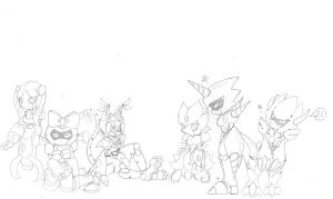 Medabots i've met and others by CrissyG