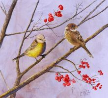 Bird Panting by Brightstone