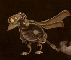 Mechanical Bird by gordoMedia