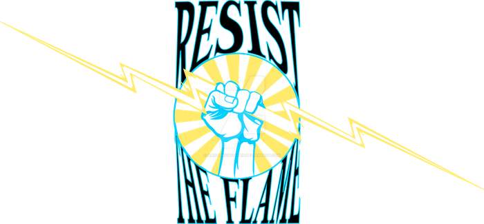 Resist The Flame by AnnouncingAlan