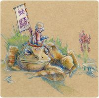 Frog Rider by dan-gr-fix
