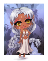 Chibi Isis for ChibiSandra by utenaxchan